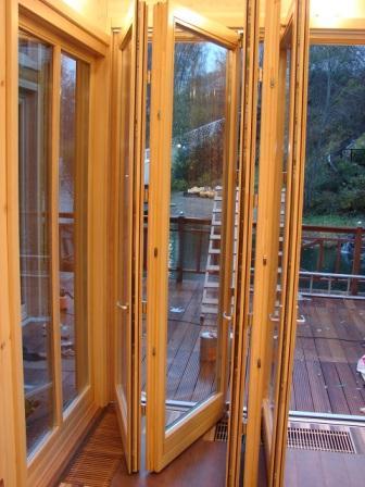 Okna Veranda складывающиеся двери двери гармошка порталы
