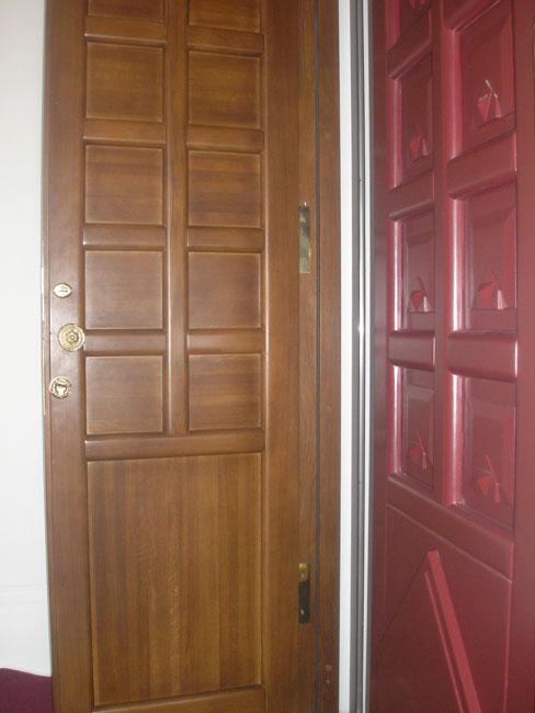 входные двери на сходне